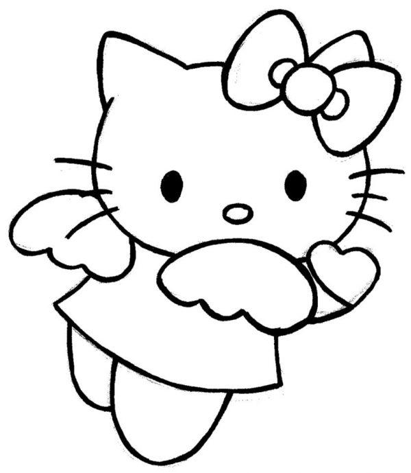 to mau hinh hello kitty