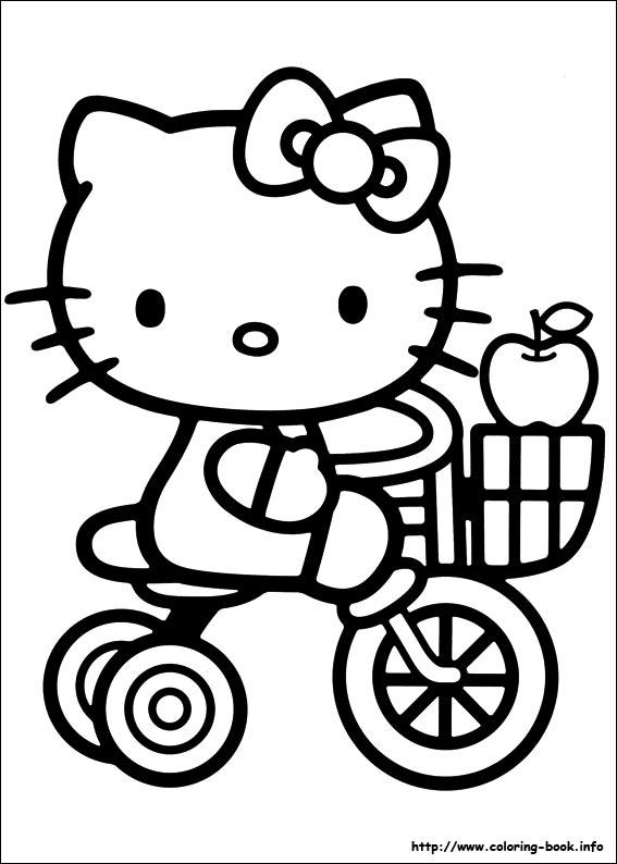 hinh to mau hello kitty dep nhat