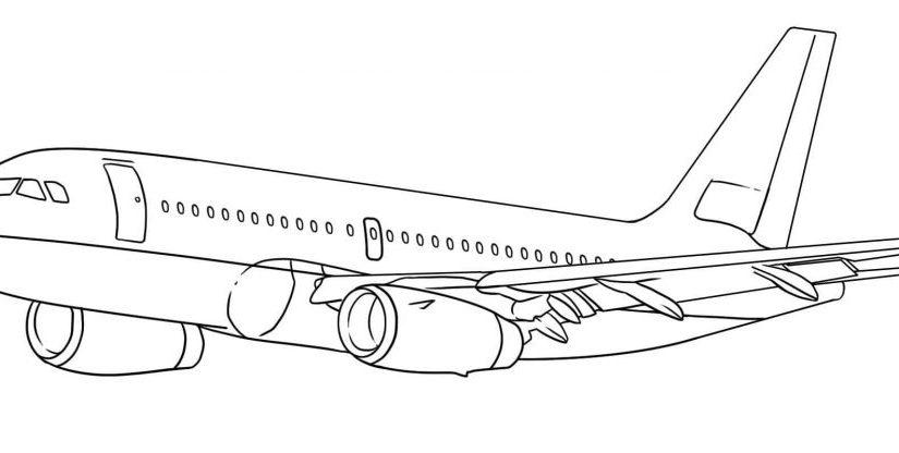 vẽ hình máy bay