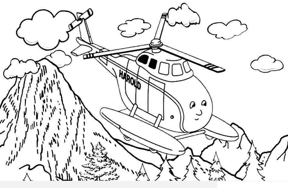 máy bay tô màu