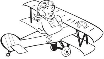 vẽ máy bay đơn giản