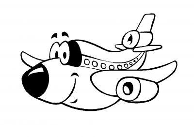 giáo án tô màu máy bay