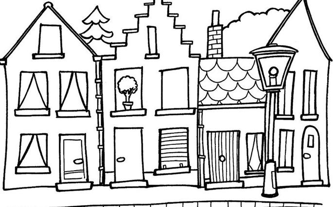 cách vẽ lâu đài