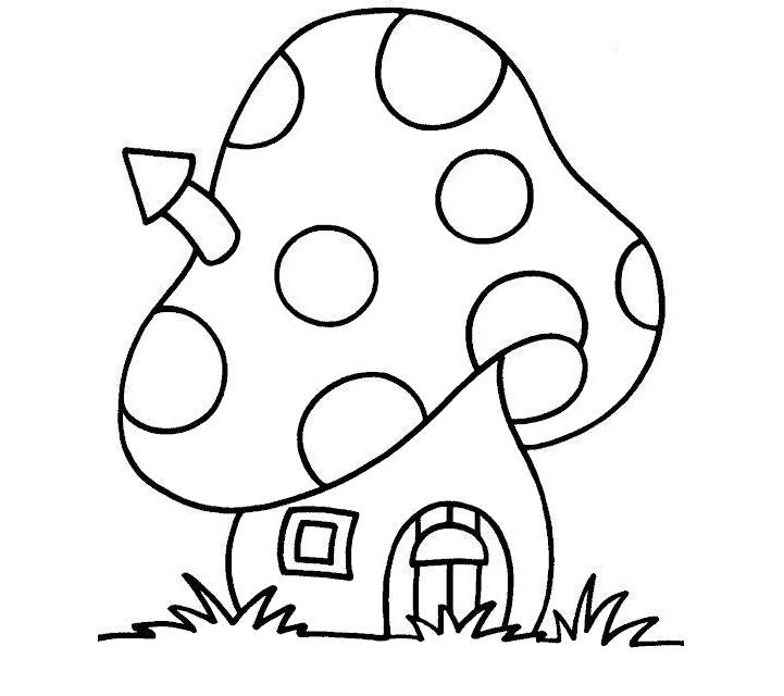 vẽ tranh ngôi nhà
