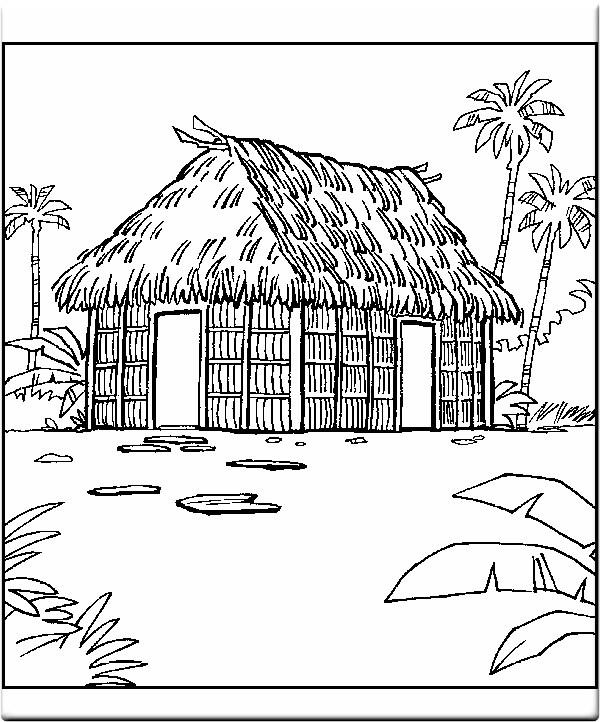 vẽ ngôi nhà đơn giản