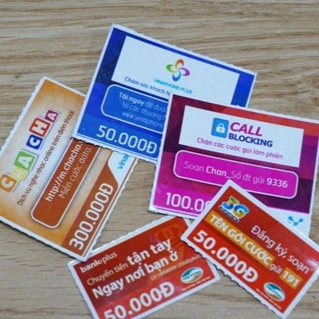 Thanh toán sim trả sau bằng thẻ cào điện thoại