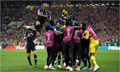 những đội bóng vô địch world cup 2